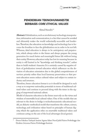 core ethical values of military essay Ethical issues facing the army leadership today ethical behavior as a core part of other military personnel thus, the values of the.