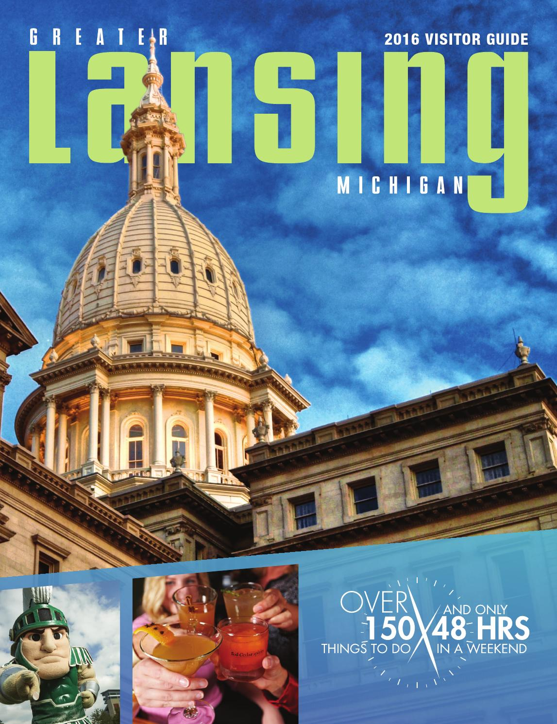 greater lansing visitor guide 2016greater lansing convention