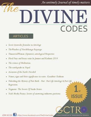 The Divine codes Volume 1 by The Vedicsiddhanta - issuu