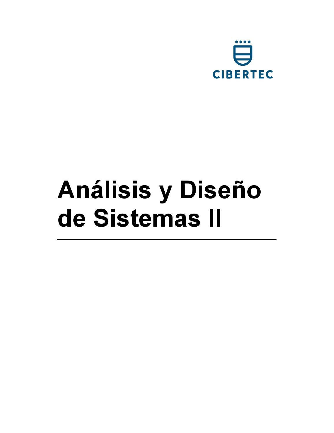 Manual de Analisis y Diseño de Sistemas || by Americo Muñoz - issuu