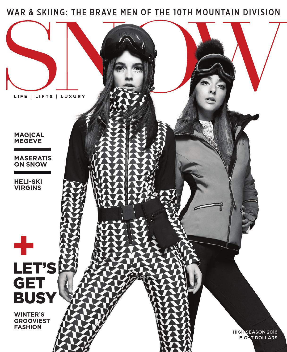 Snow Magazine High Season 2016 By Snow Issuu