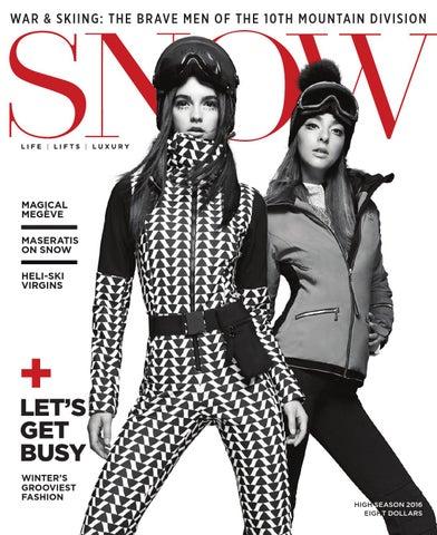 f8c889b686 SNOW Magazine High Season 2016 by SNOW - issuu