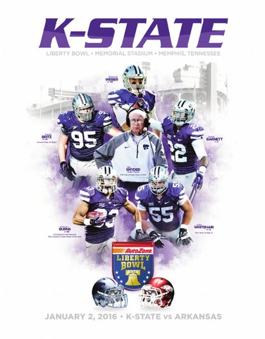 2016 K-State AutoZone Liberty Bowl Media Guide by K-State