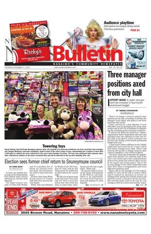 Bathmaster Nanaimo nanaimo news bulletin, december 18, 2014black press - issuu