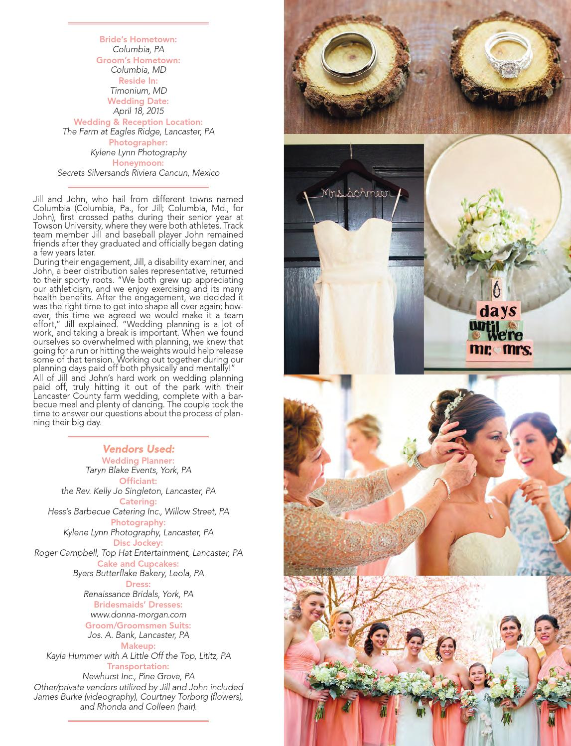 Wedding planner 2016 by engle printing publishing co inc issuu ombrellifo Choice Image