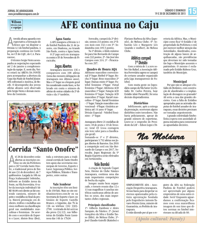 Edição 1178 by Jornal de Araraquara - issuu 14468f82a2398