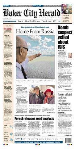 Baker City Herald paper 12-18-15 by NorthEast Oregon News - issuu