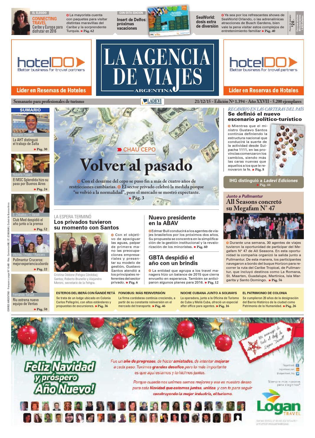 La Agencia de Viajes Argentina N° 1.394 by Ladevi Media & Solutions ...