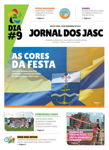 ac8fb1f3a5 Jornal dos Jasc  9 by Jasc2015 - issuu