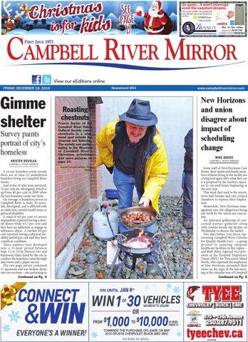 Campbell River Mirror, December 18, 2015 by Black Press