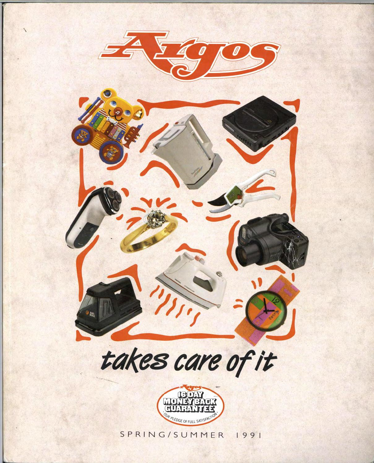 Argos No 35 1991 Spring/Summer by Retromash - issuu