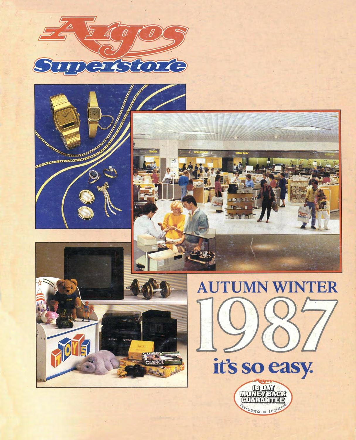 Argos Superstore 1987 Autumn Winter By Retromash Issuu The Guitar Wiring Blog Diagrams And Tips Telecaster Directthrough