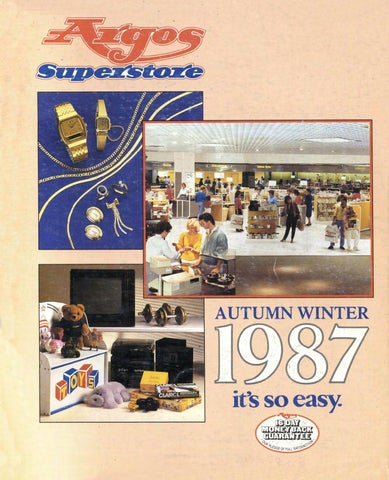 89df720c6d1a Argos Superstore 1987 Autumn Winter by Retromash - issuu