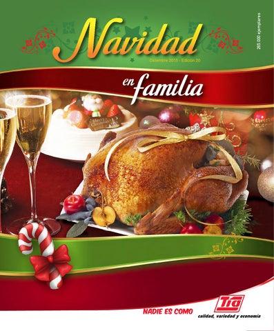 Postres Para Una Feliz Navidad.Navidad En Familia By Almacenes Tia Issuu