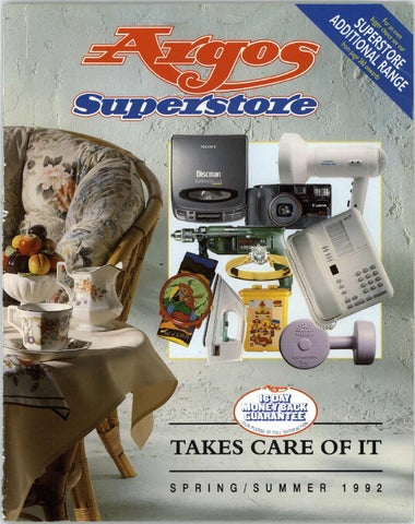 4326325e23db Argos Superstore 1992 Spring Summer by Retromash - issuu