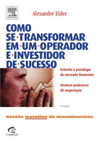 Como se transformar em um operador e investidor de sucesso alexander ... f72870c61fa3