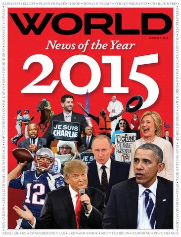 World Magazine Jan 9 2016 Vol 31 No 1 By Gods World