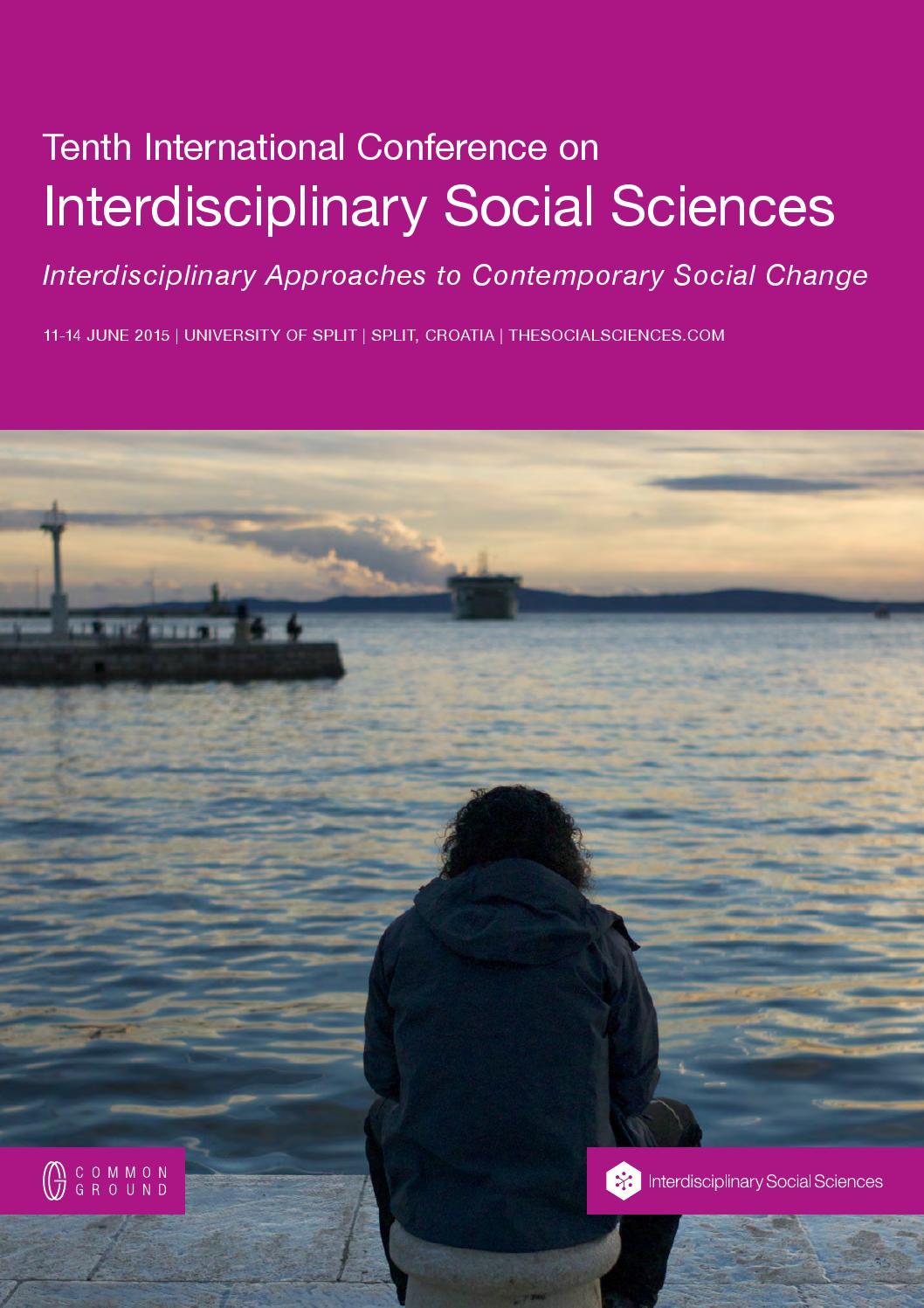 Interdisciplinary Approaches to Contemporary Social Change ...