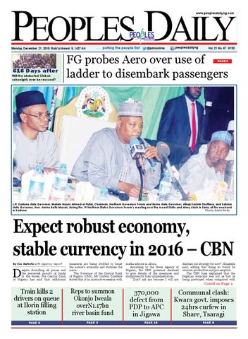 Page 1 Peoplesdailyng Monday December 21