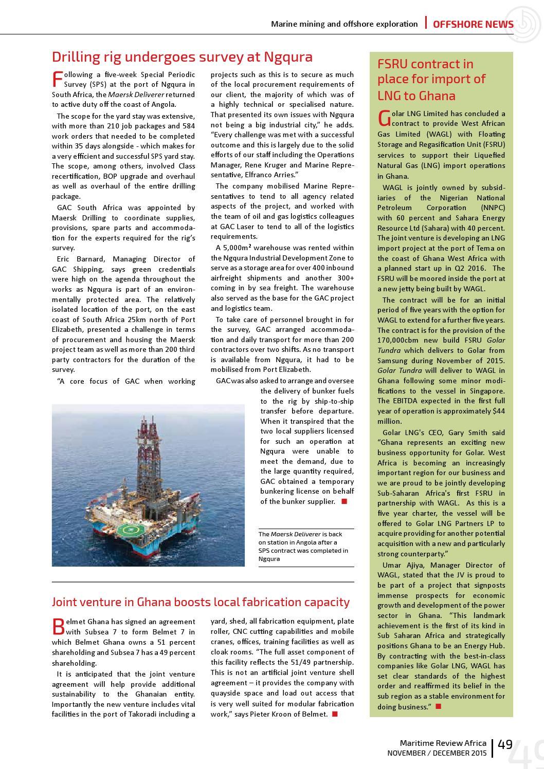 Maritime Review Novdec 2015 By More Maximum Media