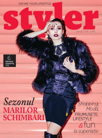 49310c3ef11 Styler Magazine, iarna 2015-2016