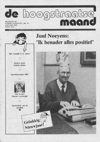 60e57113ebe3 januari 1988 - De Hoogstraatse Maand by De Hoogstraatse Maand - issuu