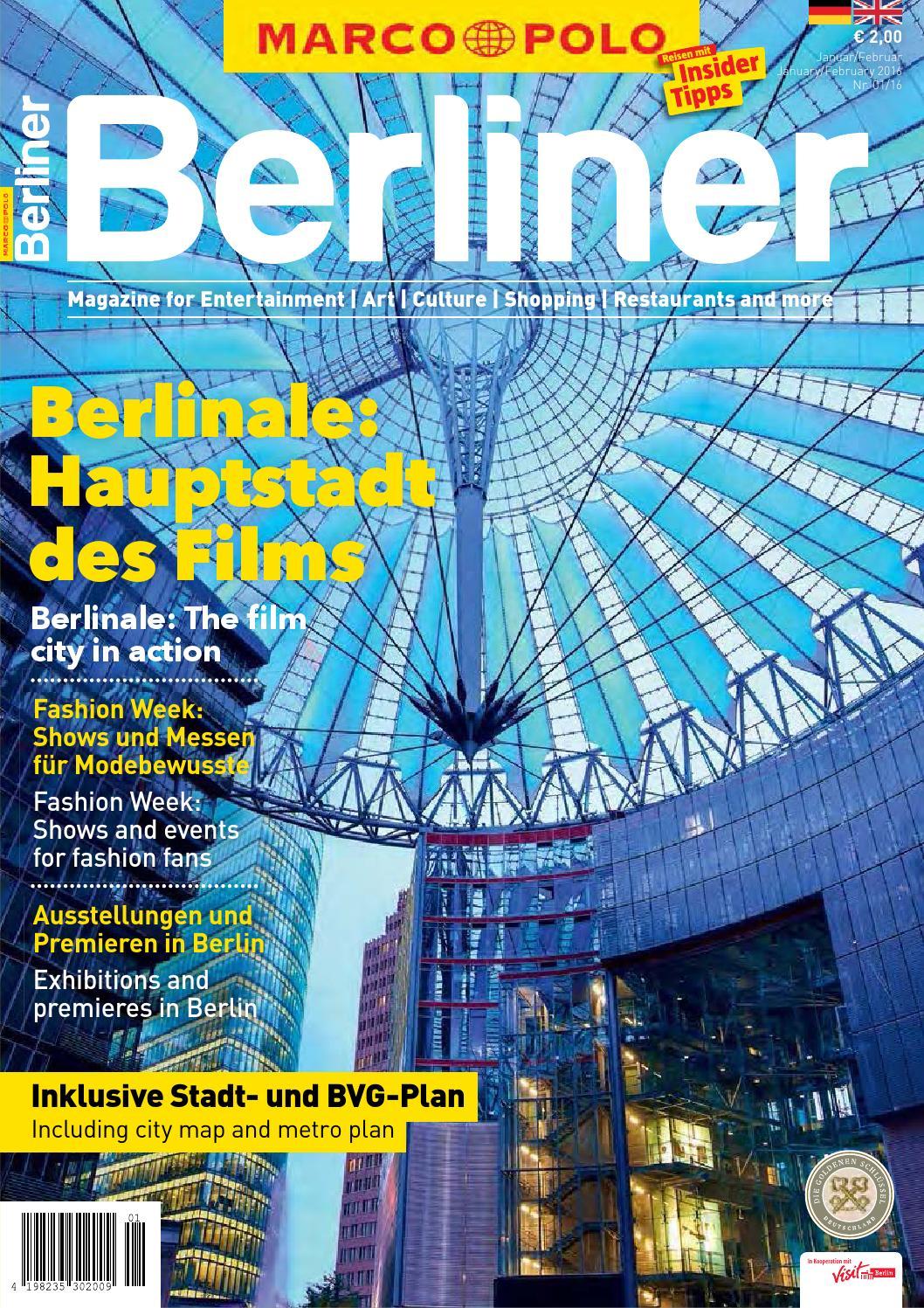 MARCO POLO Berliner 01/16 by Berlin Medien GmbH - issuu