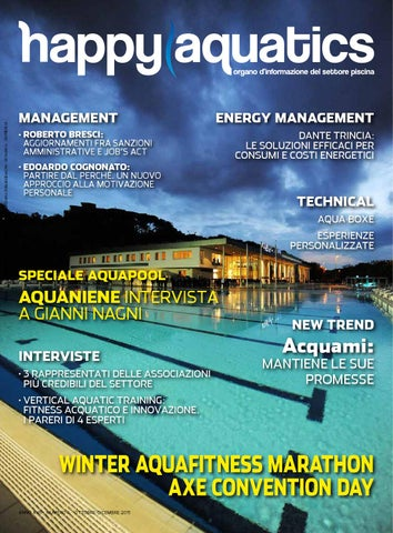 b4bc388fd02e Happy Aquatics n.1 anno 2016 - ITA by Happy Aquatics & Wellness - issuu