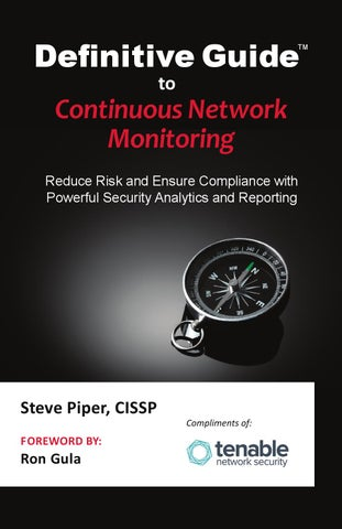 Definitive guide to continuous network monitoring by Alberto