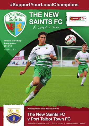Tnsfc V Port Talbot Town Fc 12 9 15 By The New Saints