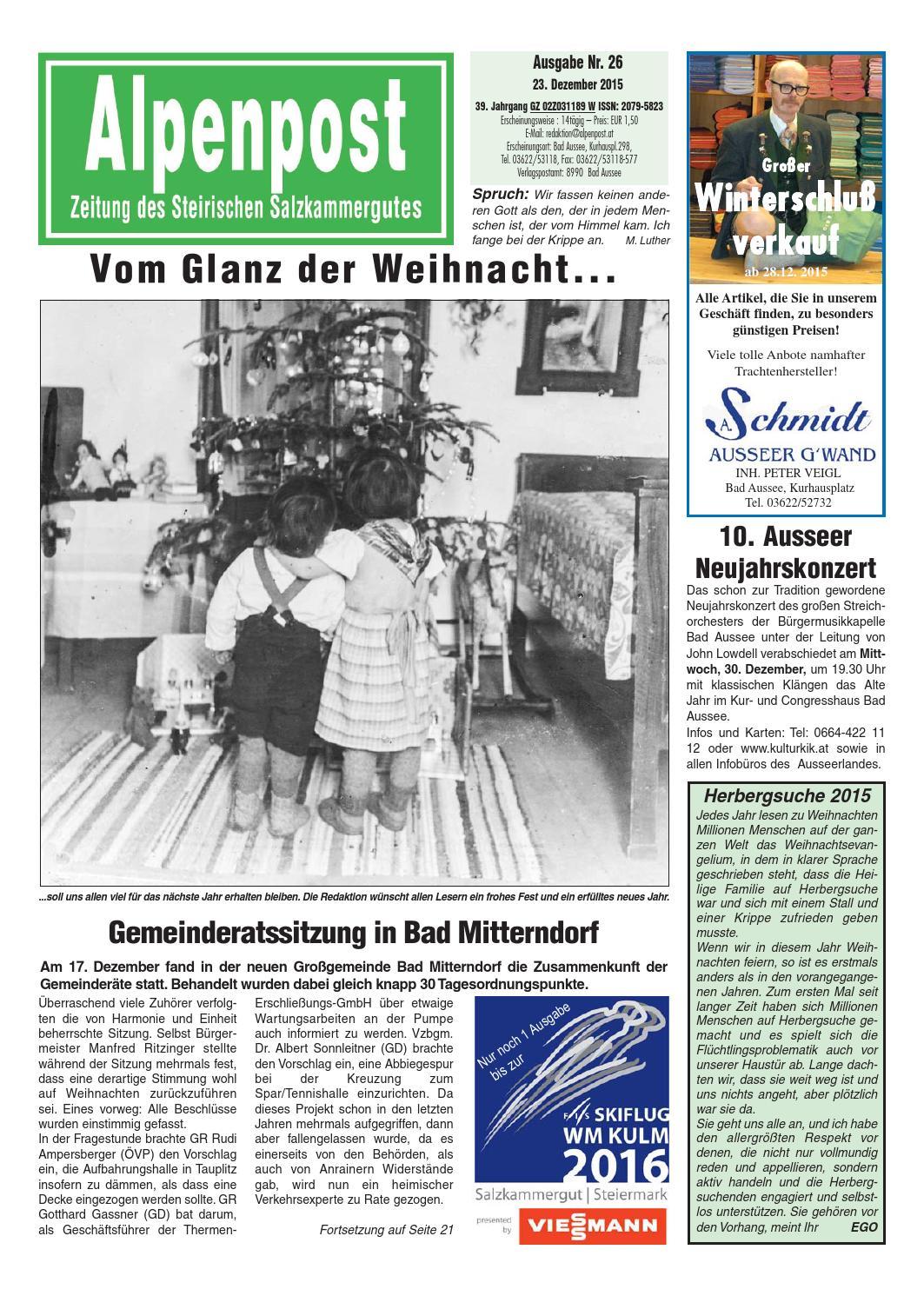 Bad mitterndorf singletreff ab 50 - Neue menschen kennenlernen in