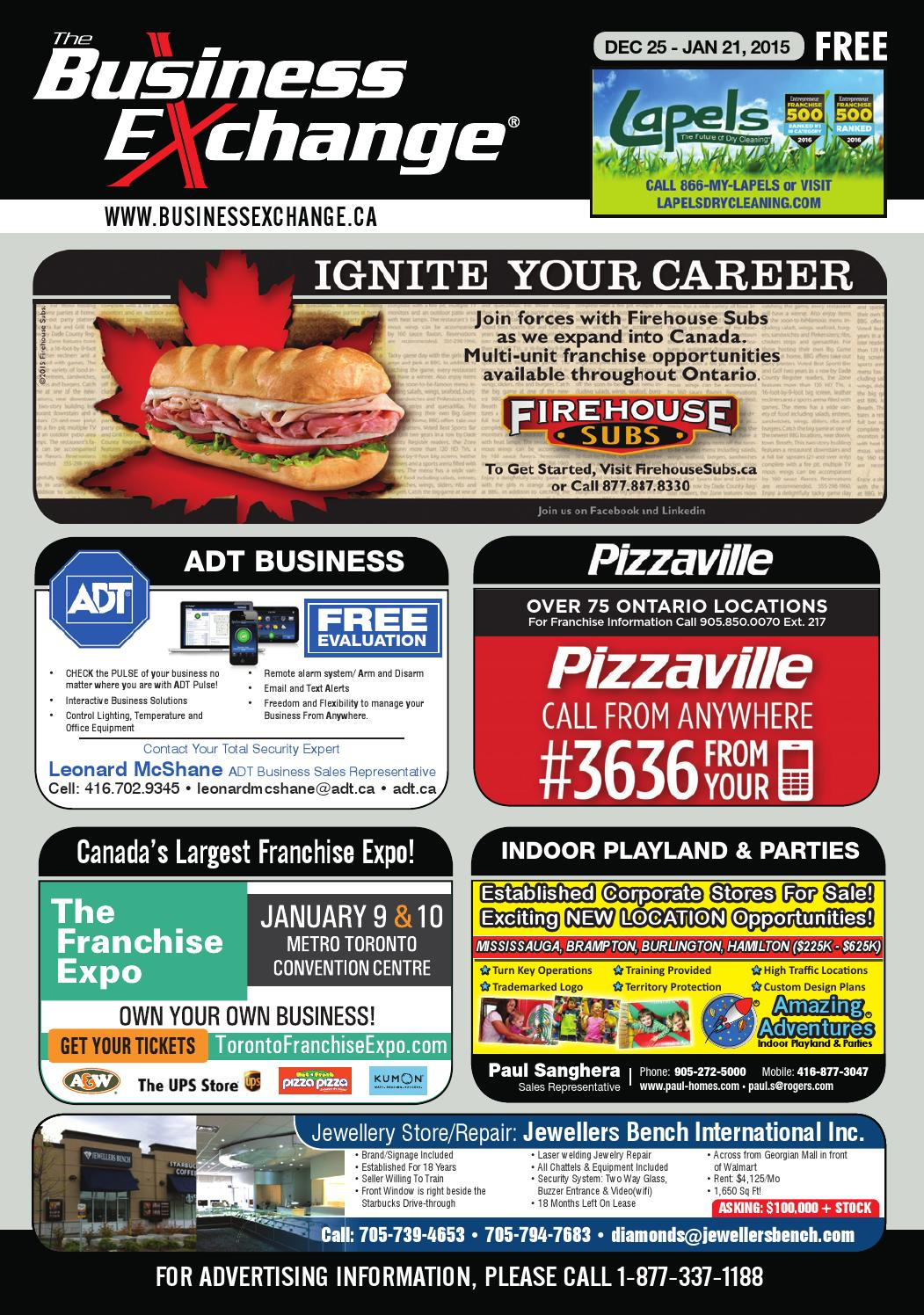 The Business Exchange Magazine On Edition Dec 25 2016 By