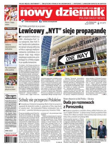 c9a0a26e36fe6 Nowy Dziennik 2015/12/16 by Nowy Dziennik - issuu