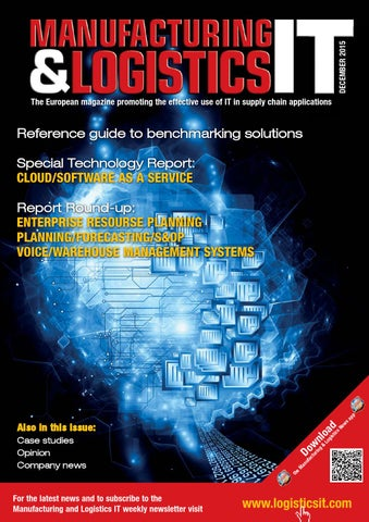 Manufacturing and Logistics IT - December 2015 Issue by