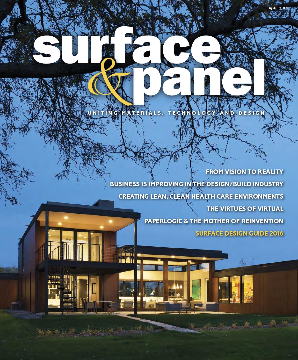 Surface & Panel Q4 2015 by Bedford Falls Communications - issuu