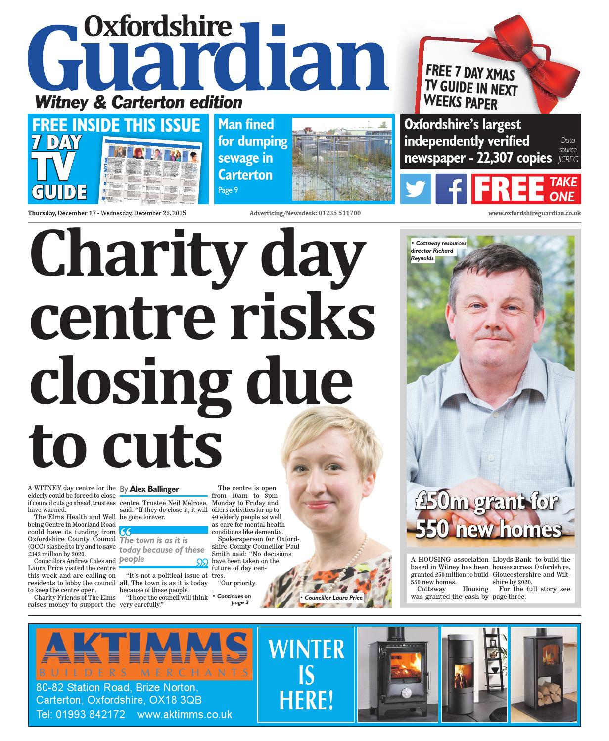 17 december 2015 oxfordshire guardian witney by Taylor Newspapers ...