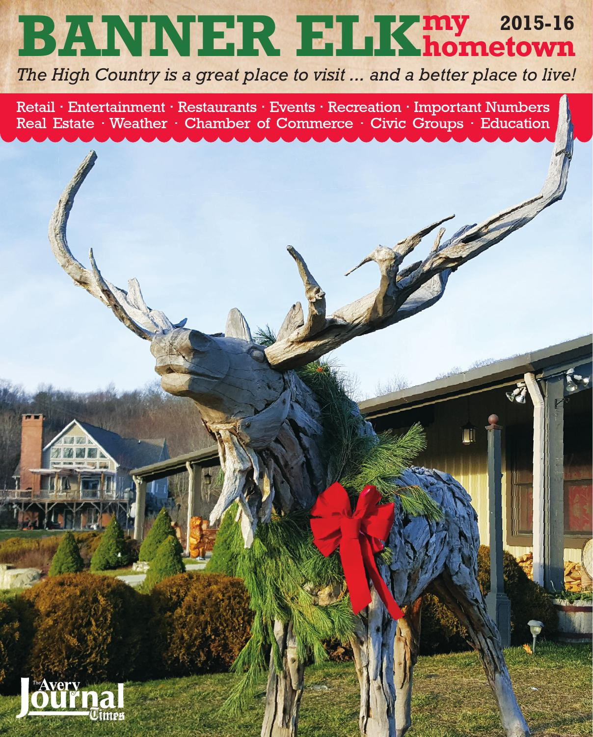 Places To Travel In December 2015: Banner Elk My Hometown 2015-16 By Mountain Times