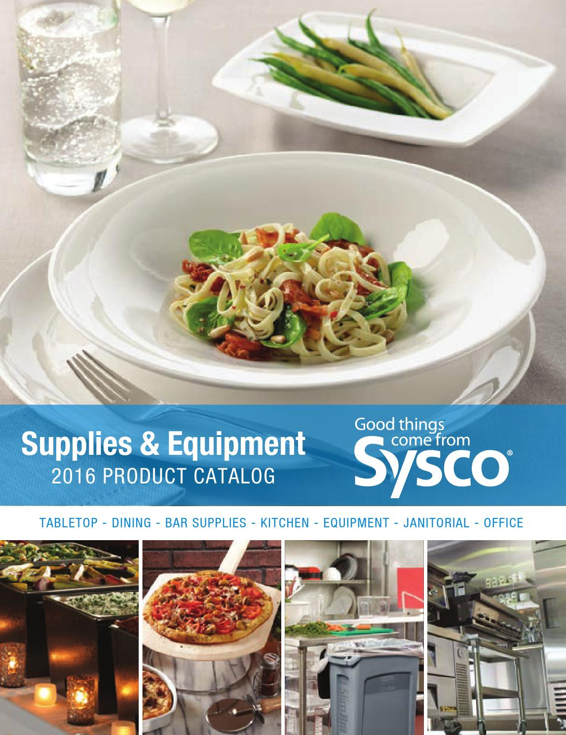 Sysco Supplies & Equipment 2016 Product Catalog by Sysco Arizona - issuu