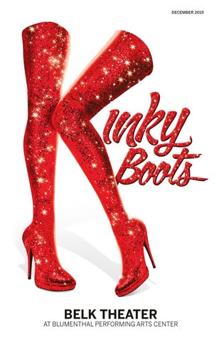 c3fc709cab5 1516 Kinky Boots Online Playbill by Blumenthal Performing Arts - issuu