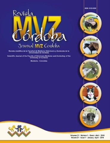 617d17b573e5 Revista MVZ Córdoba 21(1) 2016 by Revista MVZ Córdoba - issuu