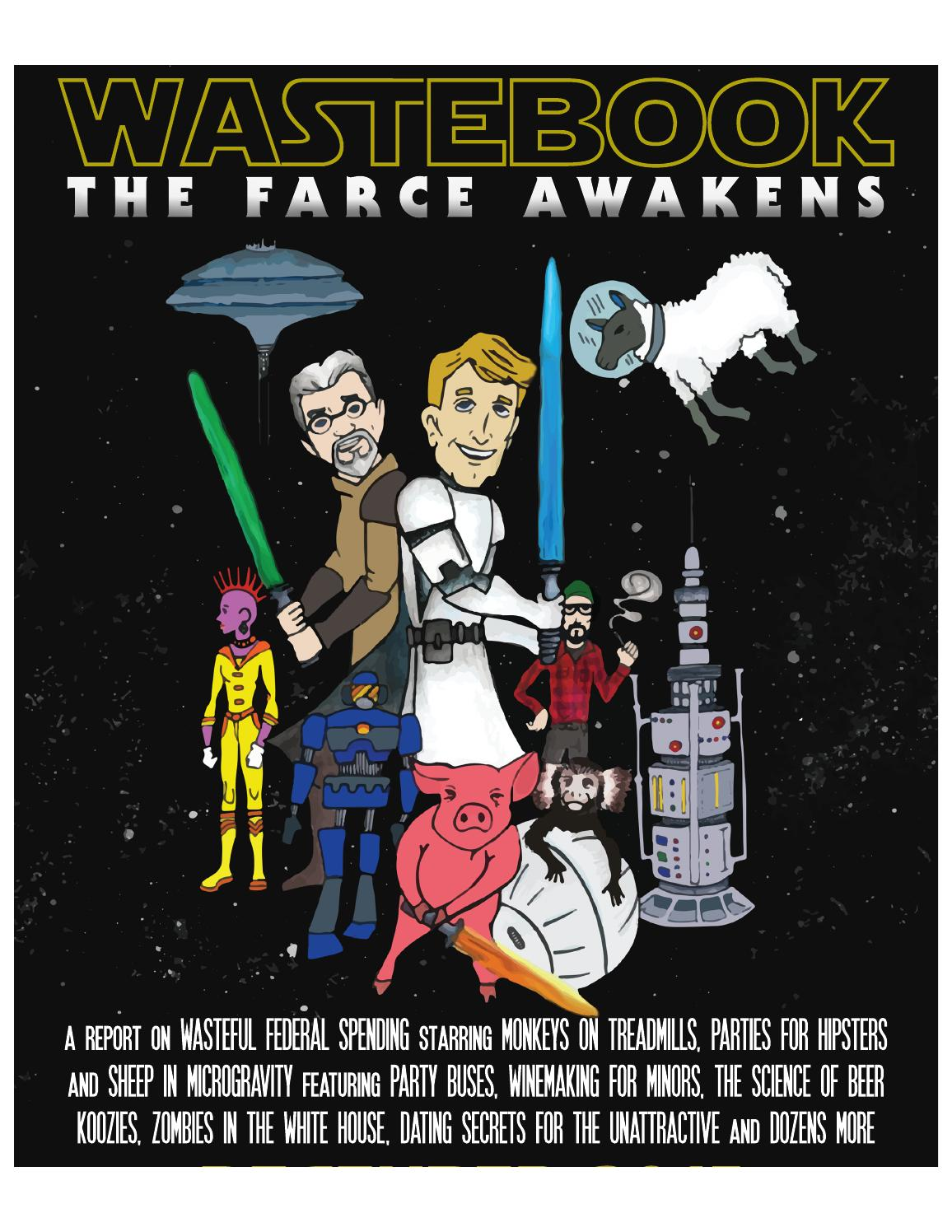 Wastebook the farce awakens by the maciver institute issuu fandeluxe Choice Image