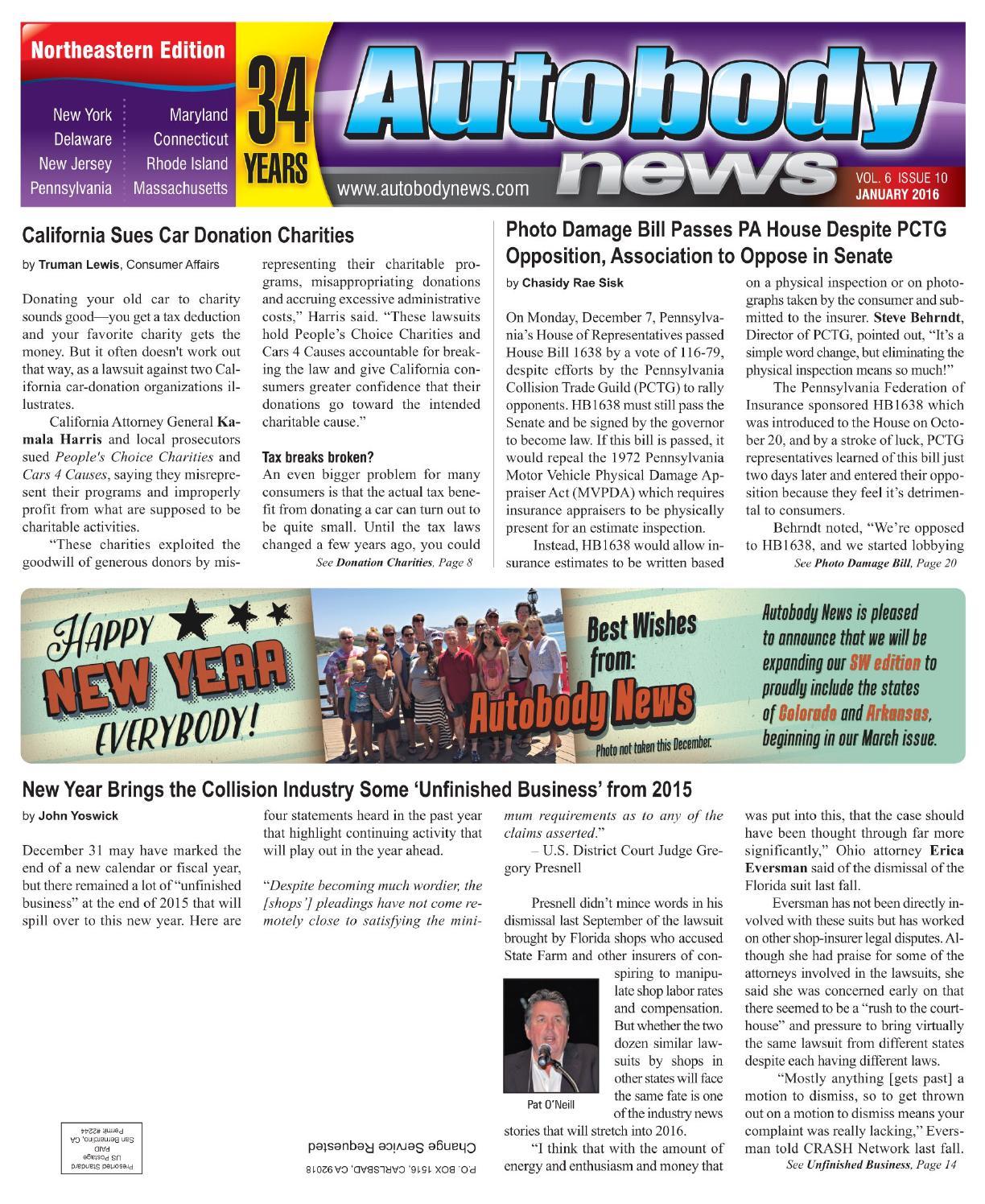 Northeastern January 2015 Issue by Autobody News - issuu