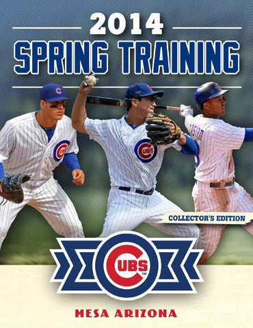 760442e8e77 Cubs Spring Training Program by Publication Layout - issuu