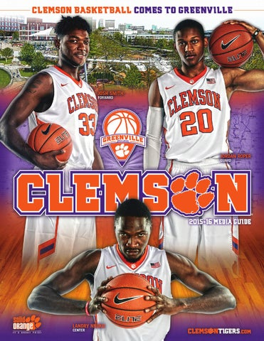 2015-16 Clemson Men s Basketball Guide by Clemson Tigers - issuu d4280c09e