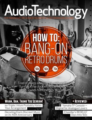 AudioTechnology App Issue 26 by Alchemedia Publishing - issuu