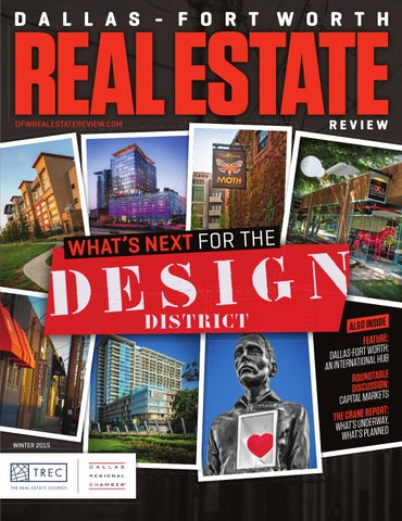 Dallas fort worth real estate review winter 2015 by dallas page 1 malvernweather Gallery