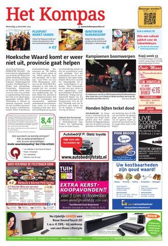 395f7e95f1b Het Kompas woensdag week52 by Wegener - issuu
