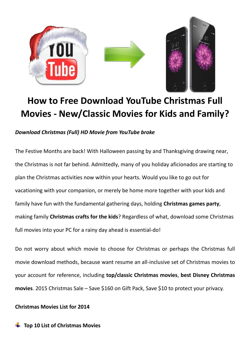 Free download christmas full movies by LucyMorries - issuu
