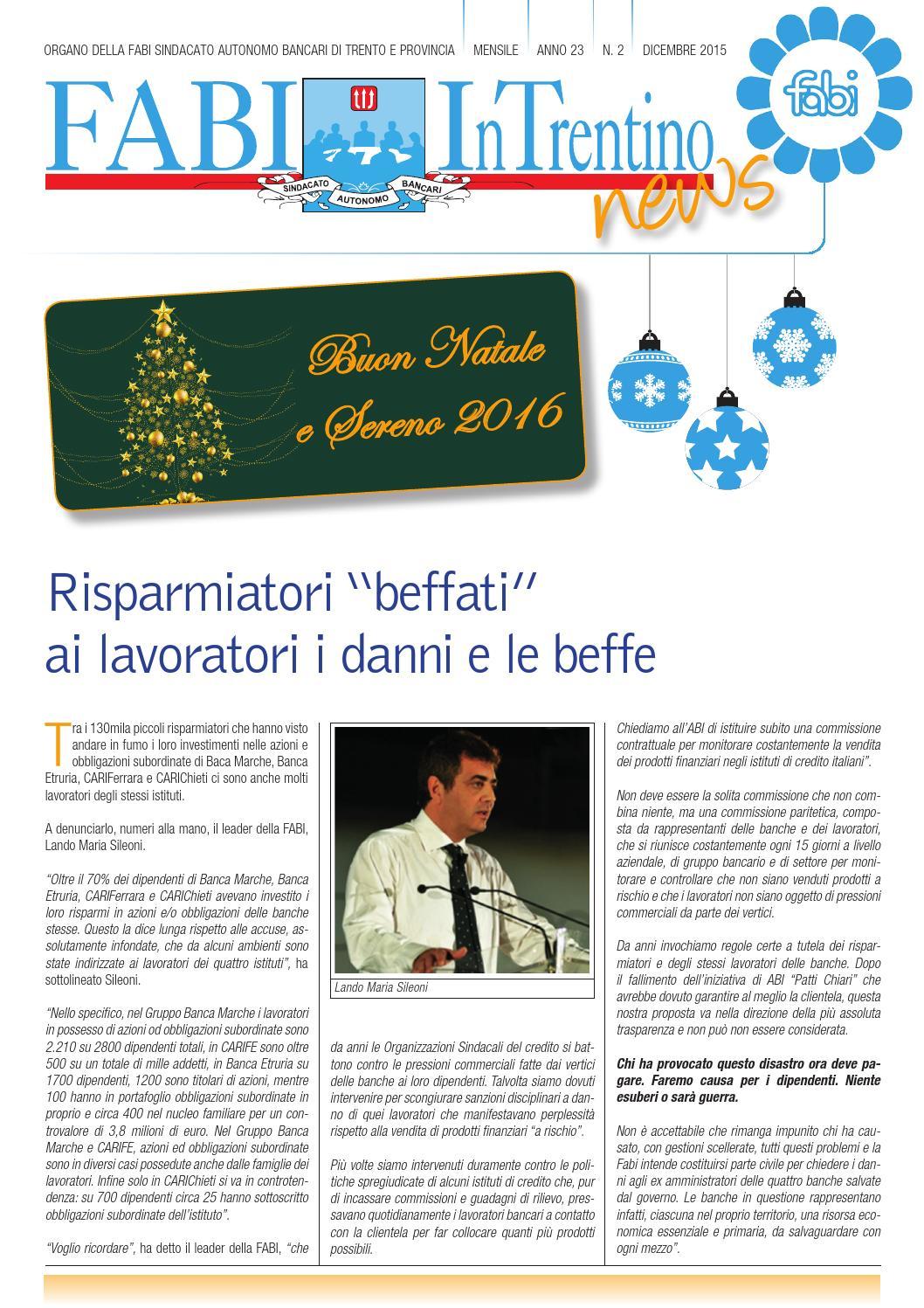 fabi in trentino news by fabi trento issuu