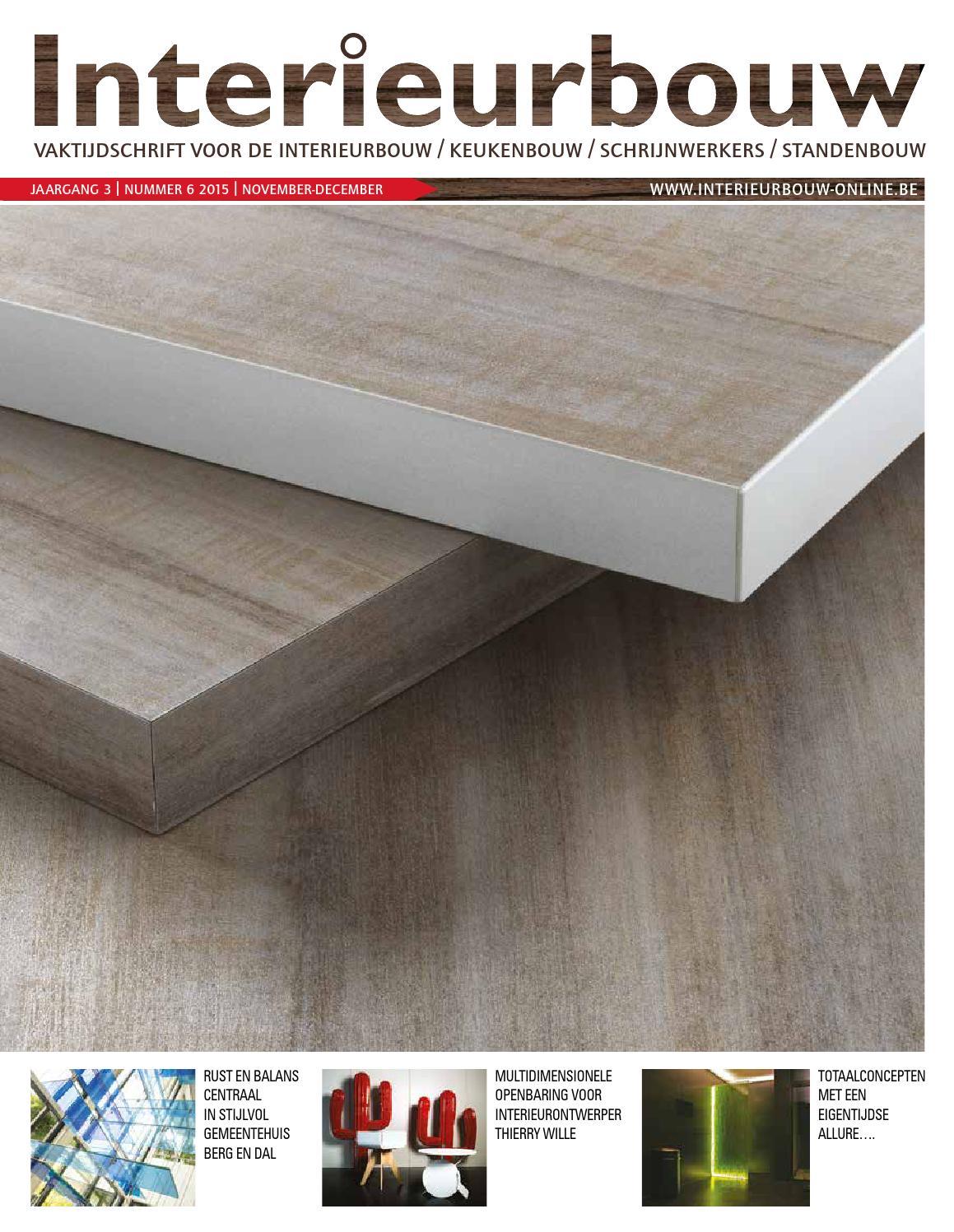 Interieurbouw 06 2015 by louwers uitgeversorganisatie bv for Interieur bouwer